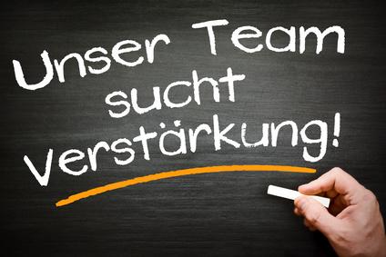 Unser Team such Verstärkung!