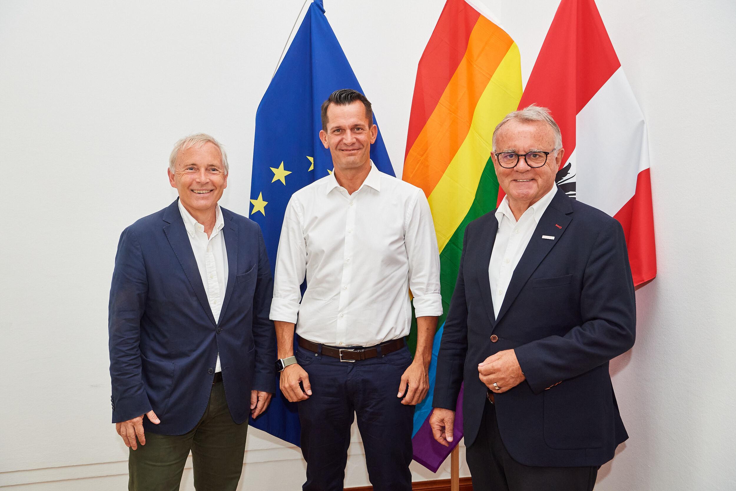 Sport Austria bei Gesundheitsminister Mückstein